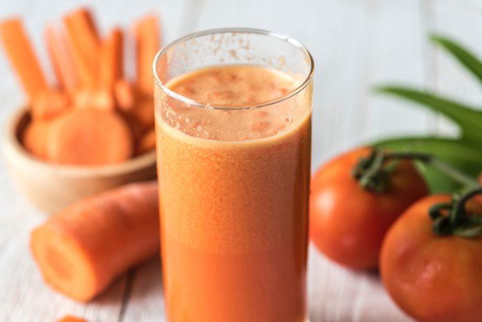 smoothie pomme carotte