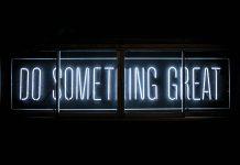 Fait quelque chose de grand