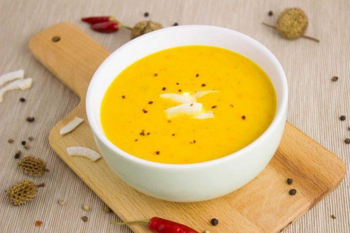 Soupe de carotte épicée healthy