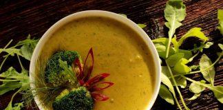 soupe brocolis et patates douces healthy