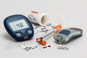 Machine pour mesure glycémie diabète