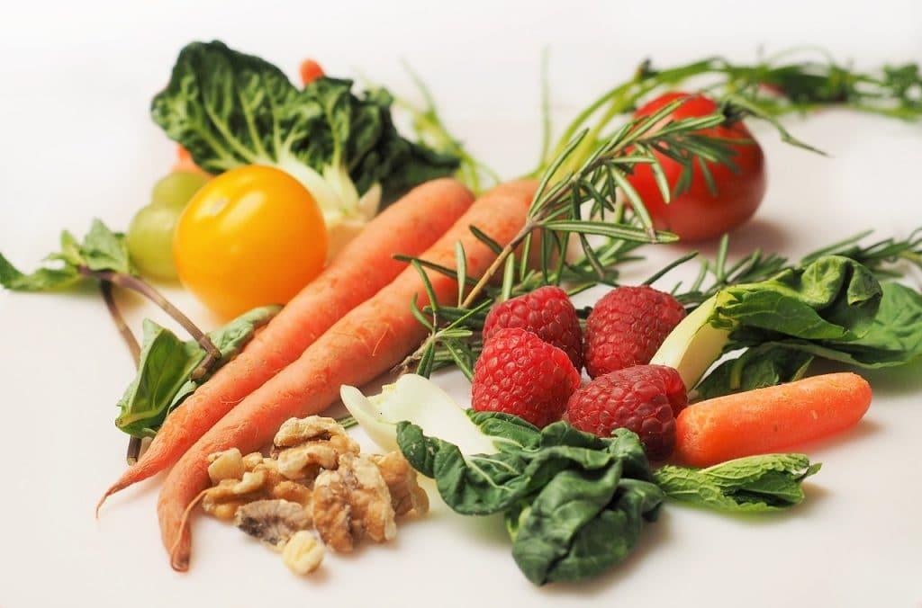 fruits et légumes fibres