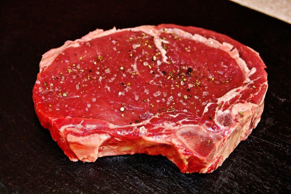 steak viande rouge boeur protides