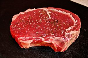 steak viande rouge bœuf protides cholestérol