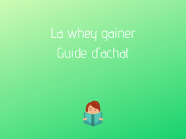 compléments alimentaires whey gainer