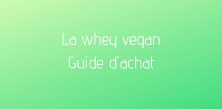 compléments alimentaires whey vegan