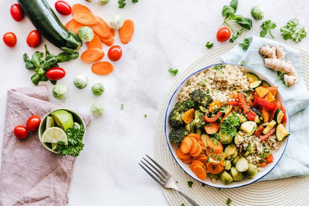 bol de légumes healthy