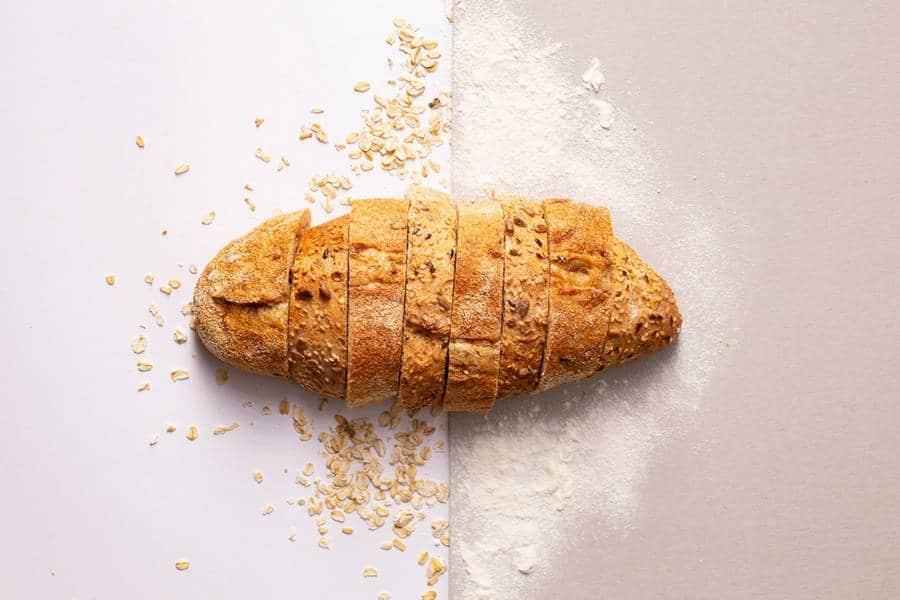 pain et comparaison farine complete farine blanche