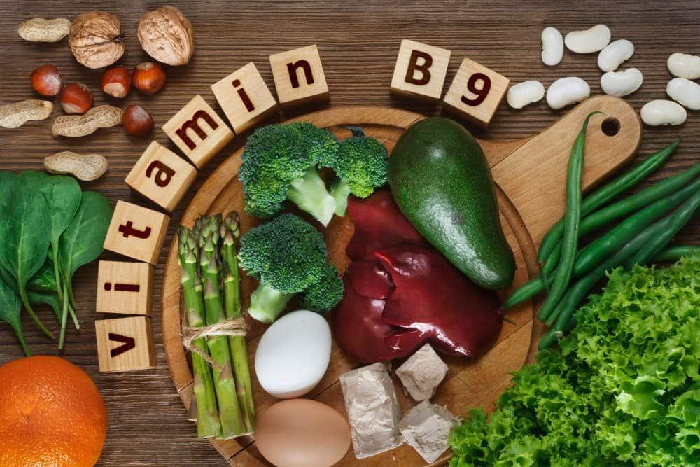 sources de vitamines B9